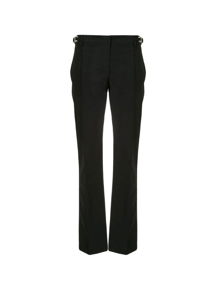 PINTUCK STRAIGHT-LEG TROUSERS - 아데쿠베