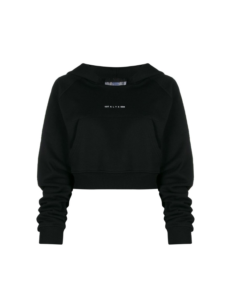 CROPPED HOODED SWEATSHIRT - 아데쿠베