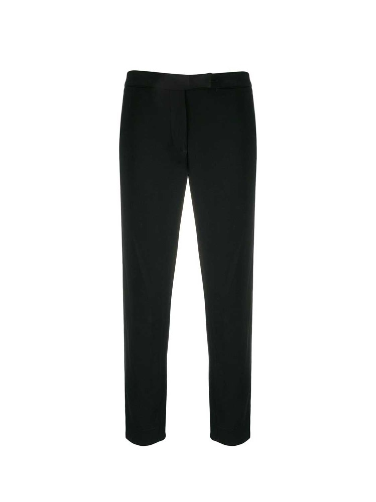 SLIM-FIT PIPED SEAM TROUSERS - 아데쿠베
