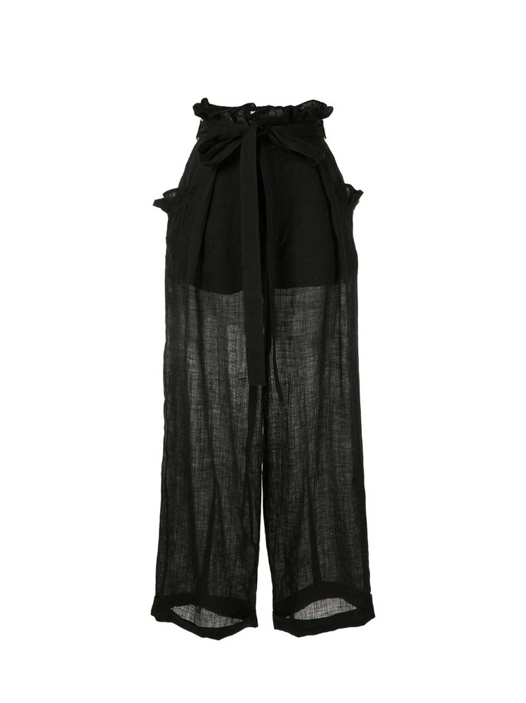 ULTRALIGHT LINEN LOOSE PANTS - 아데쿠베