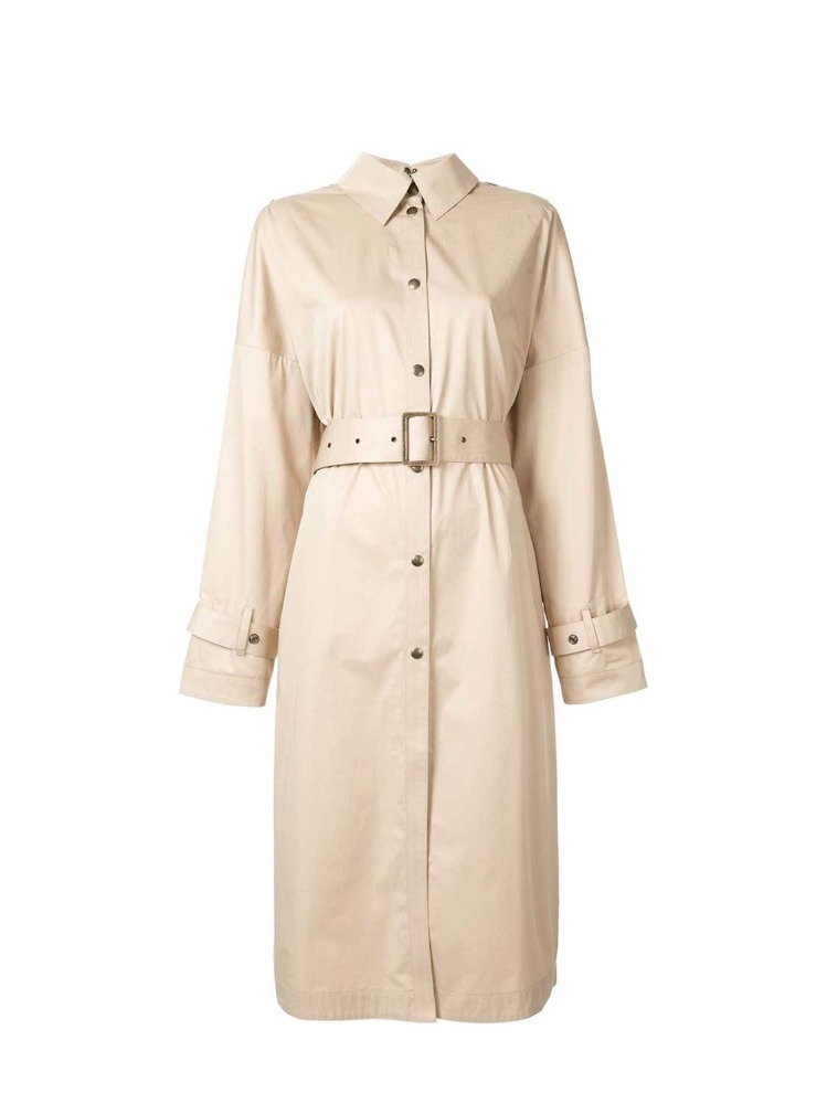 FRONT-BACK REVERSIBLE TRENCH COAT - 아데쿠베