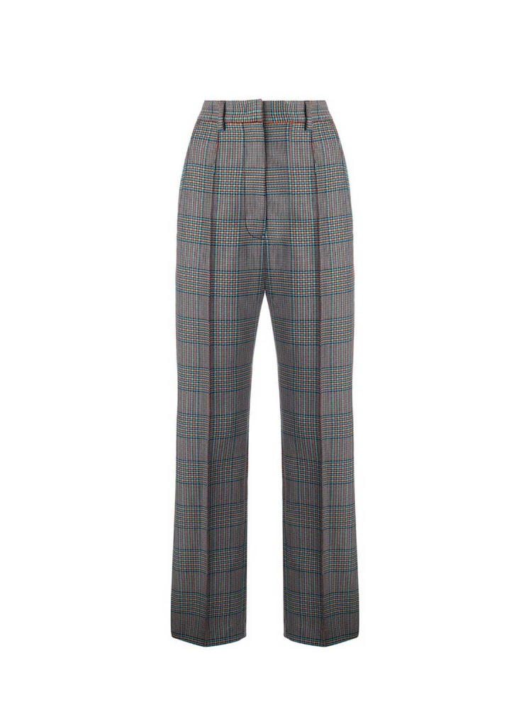 MM6 체크 바지  BLACK CHECK TROUSERS - 아데쿠베
