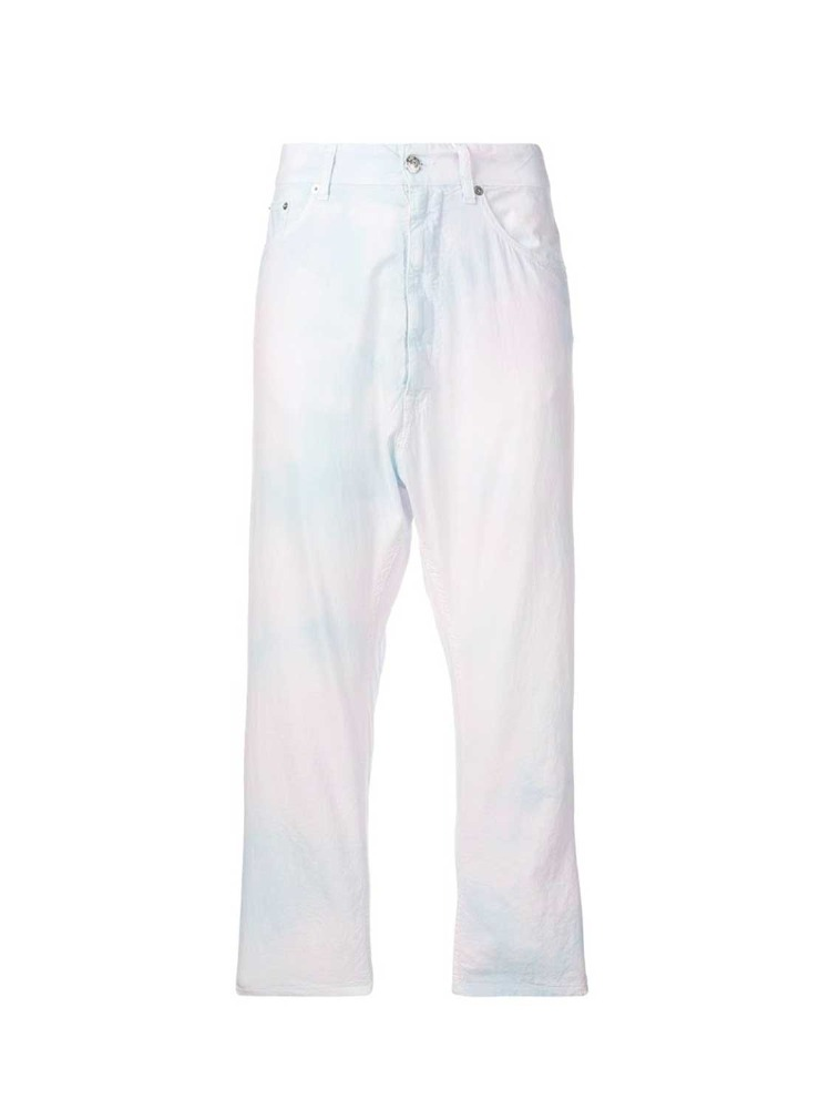 MM6 유니콘 크롭 진  UNICORN CROPPED TROUSERS - 아데쿠베
