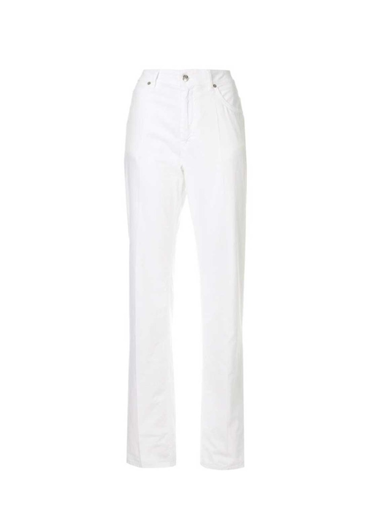 MM6 바지  COTTON PIN TUCK TROUSERS - 아데쿠베