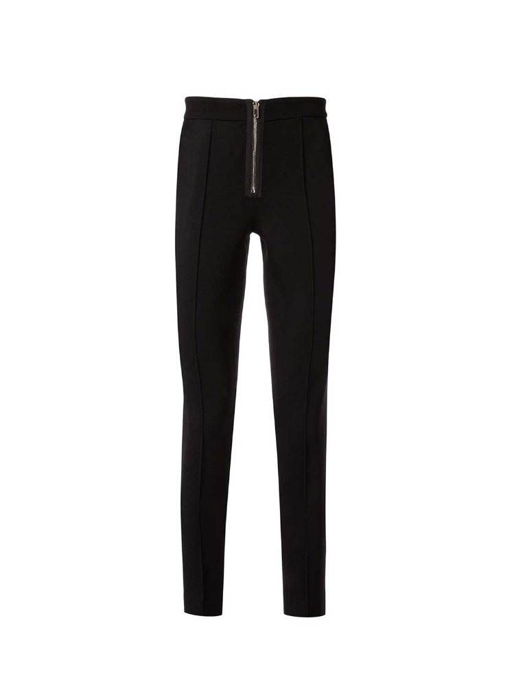 ZIP-FRONT SKINNY TROUSERS - 아데쿠베
