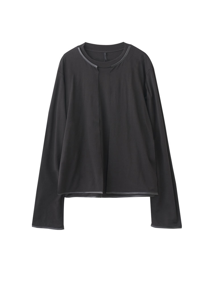 DOUBLE LAYER LONG SLEEVE T-SHIRT - 아데쿠베