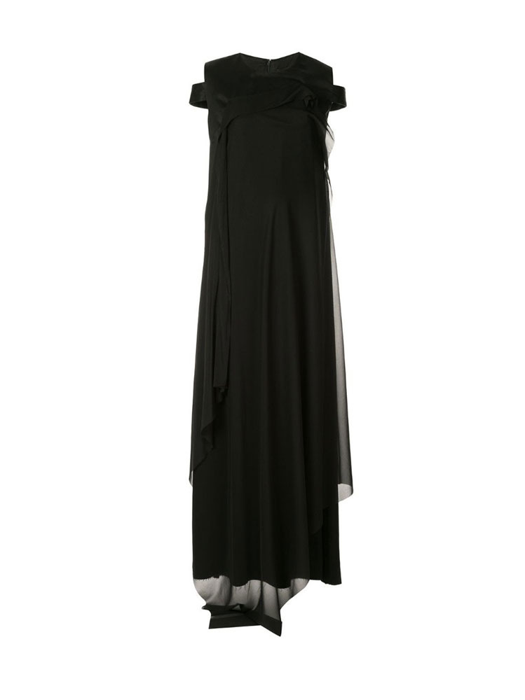 COLD SHOULDER MAXI DRESS - 아데쿠베