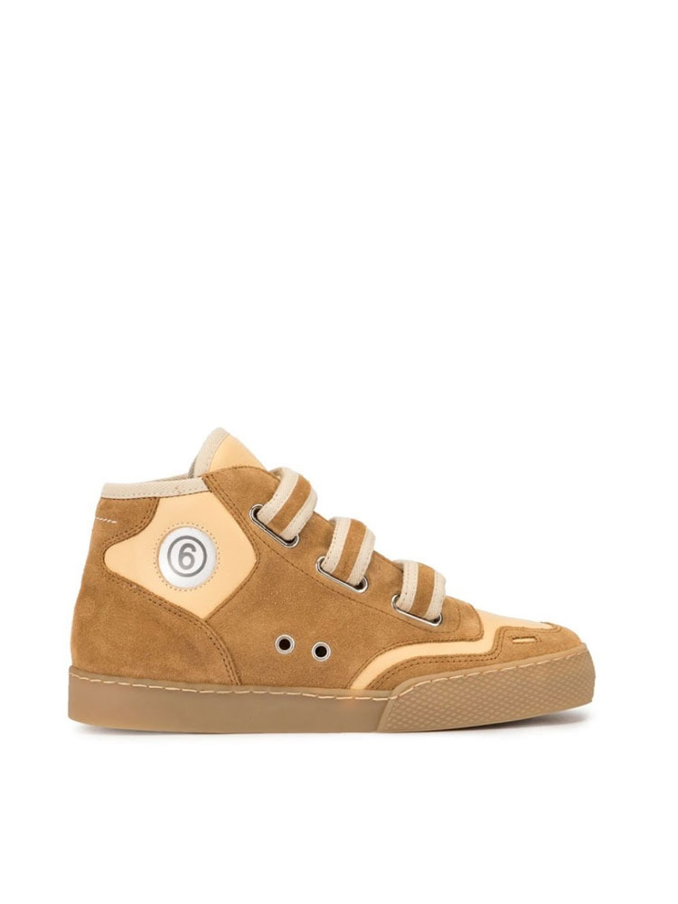 MM6 터치 스트랩 스니커즈 운동화   CAMEL TOUCH STRAPS SNEAKERS - 아데쿠베