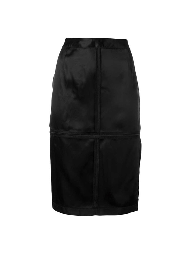 MM6 인사이드 아웃 스커트  IN-SIDE-OUT VISCOSE SKIRT - 아데쿠베