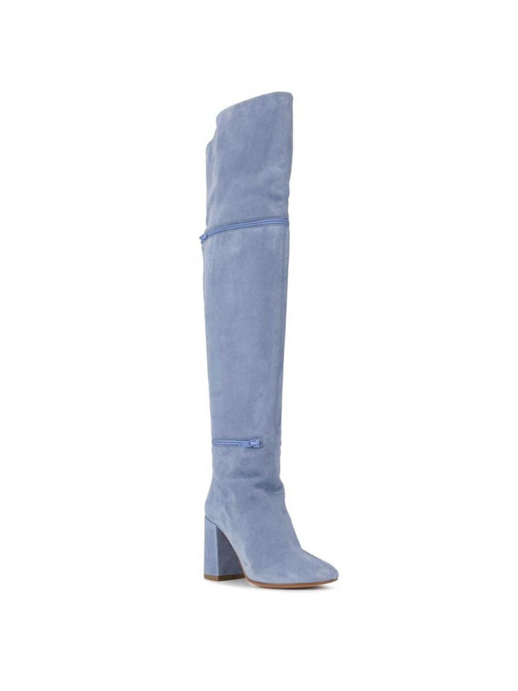 MM6 부츠  LAVENDER THIGH HIGH BOOTS - 아데쿠베