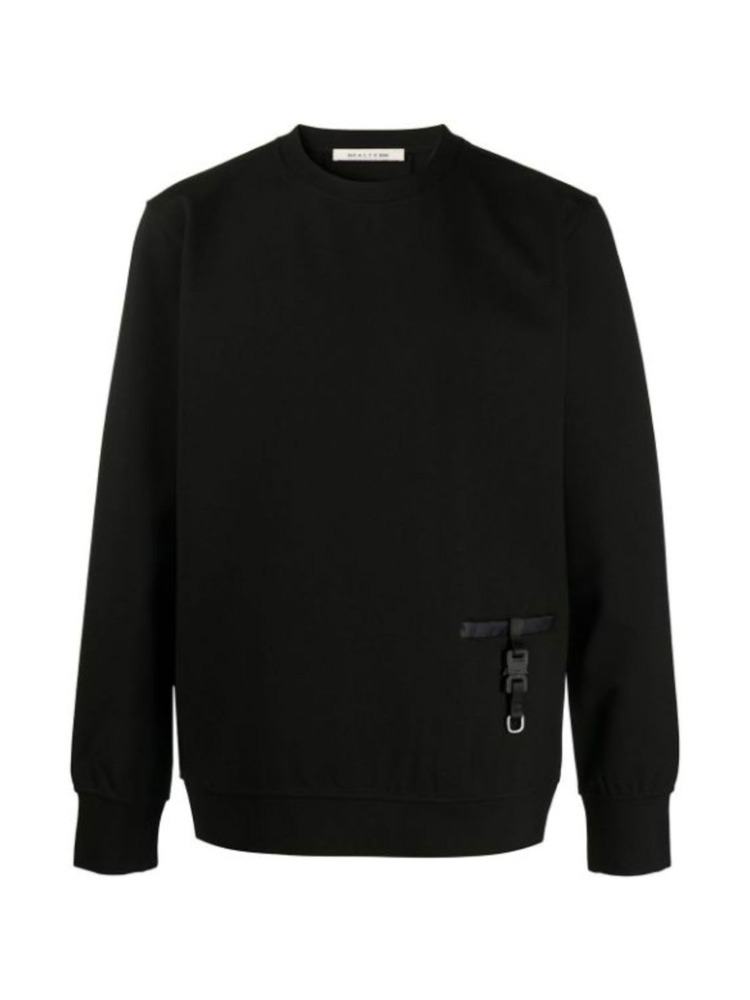 BUCKLE-DETAIL SWEATSHIRT - 아데쿠베