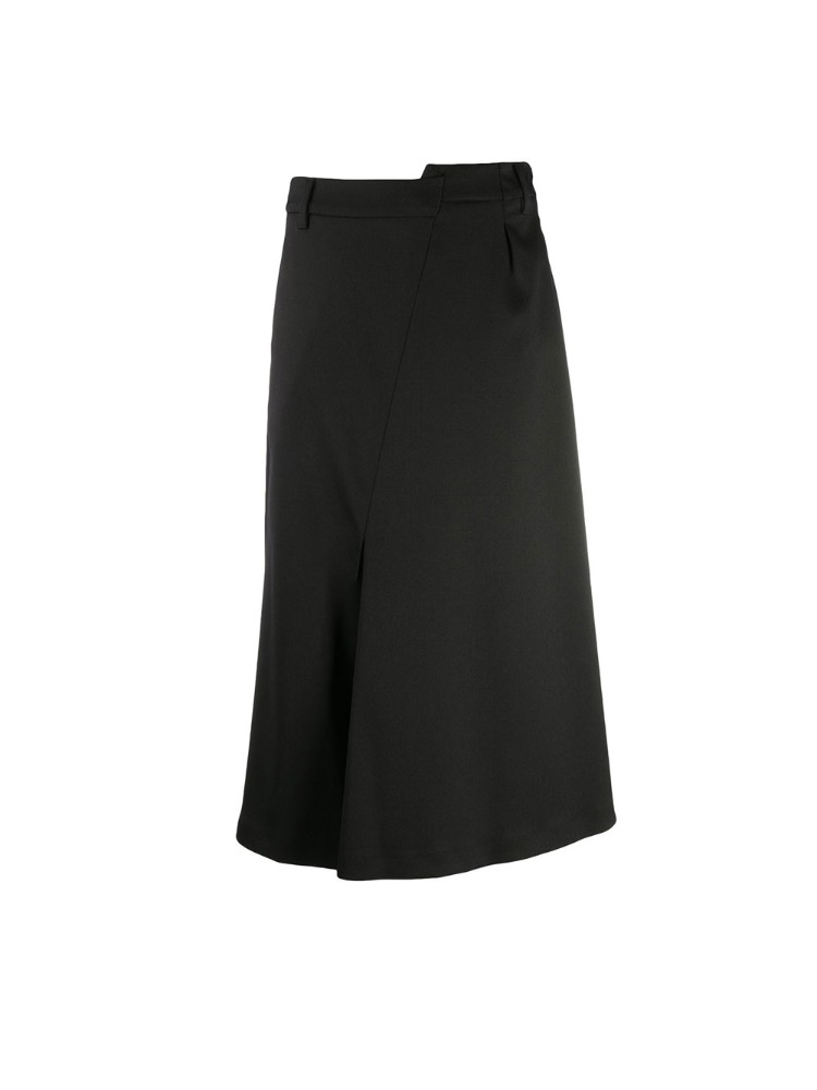 ASYMMETRIC TAILORED SKIRT - 아데쿠베