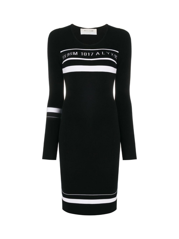LOGO KNIT DRESS - 아데쿠베