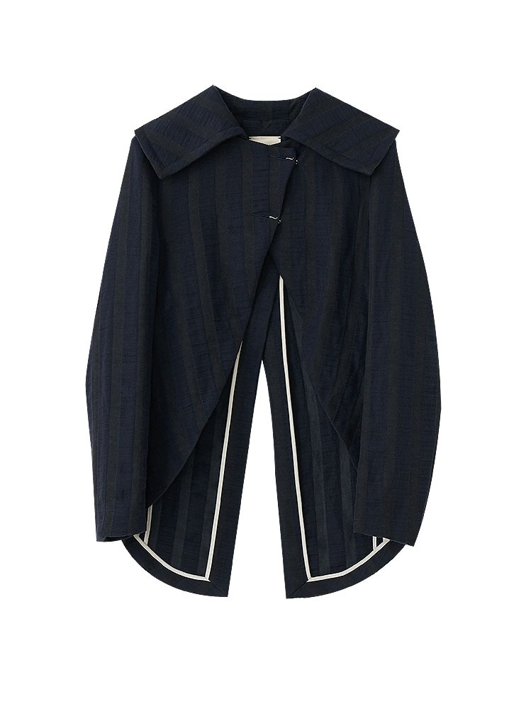 LINENWOOL SLIM FIT JACKET - 아데쿠베
