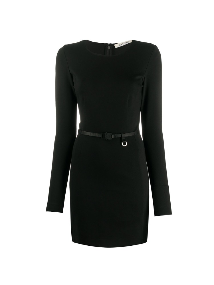 BELTED MINI DRESS - 아데쿠베