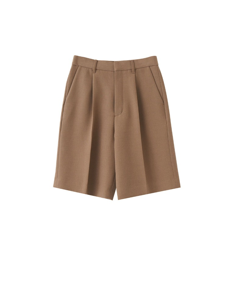 KAEL SOLID SHORT PANTS - 아데쿠베