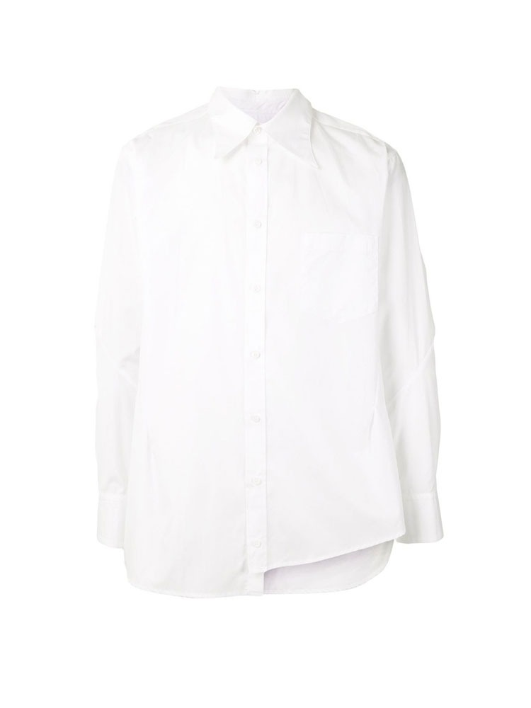 ASYMMETRIC LONG-SLEEVE SHIRTS - 아데쿠베