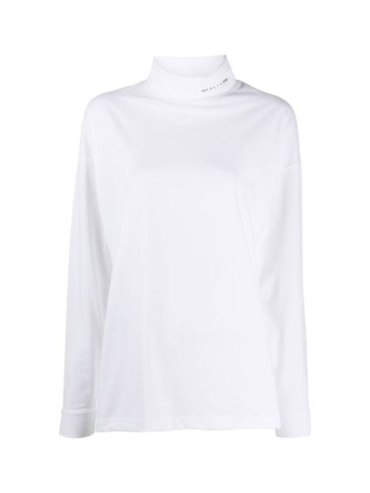 LONG SLEEVE ROLL NECK TEE - 아데쿠베