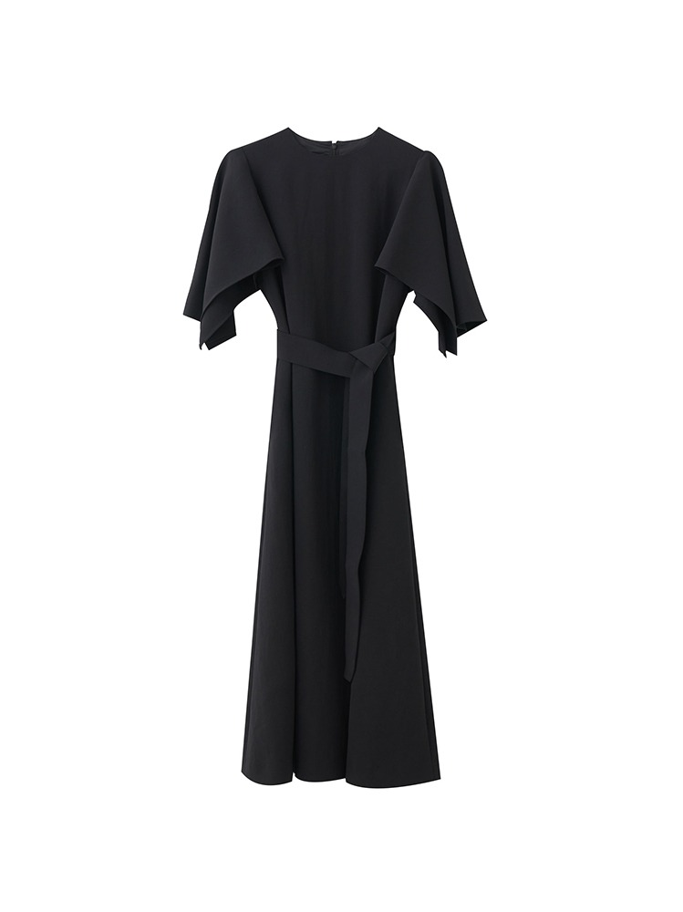 ROBYN PANEL SLEEVES DRESS - 아데쿠베
