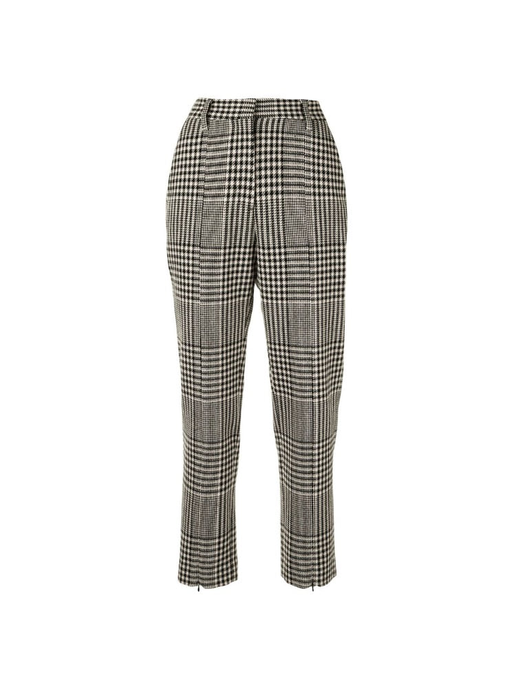 CHECK PATTERN TROUSERS - 아데쿠베