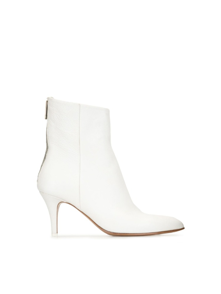 POINTED TOE ANKLE BOOTS - 아데쿠베
