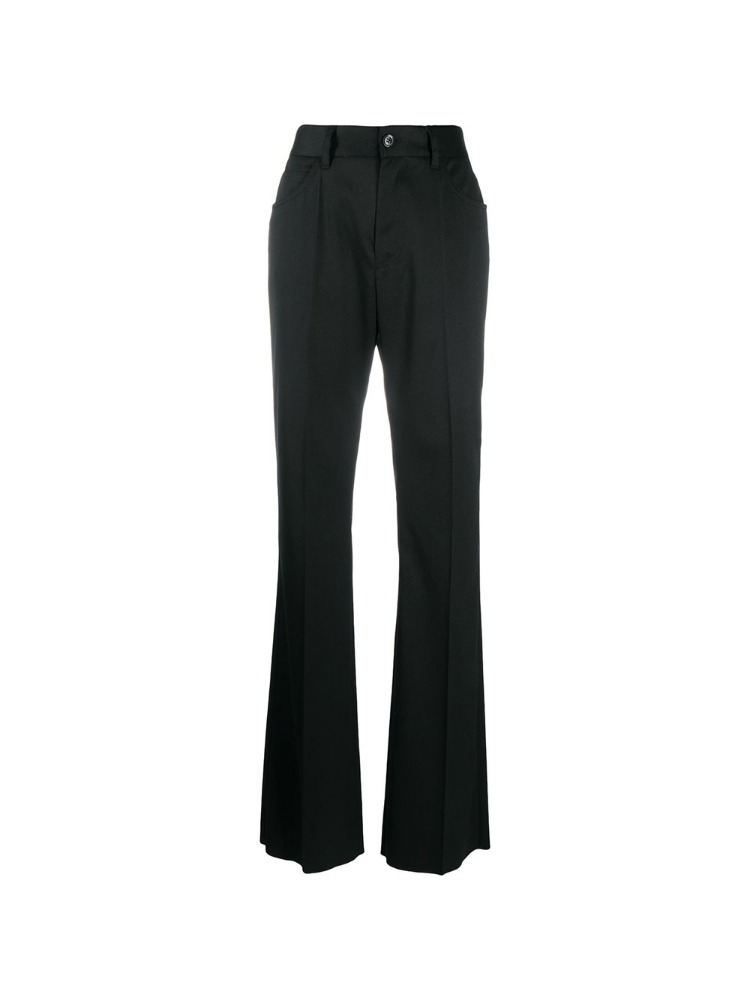 WIDE-LEG TWILL TROUSERS - 아데쿠베