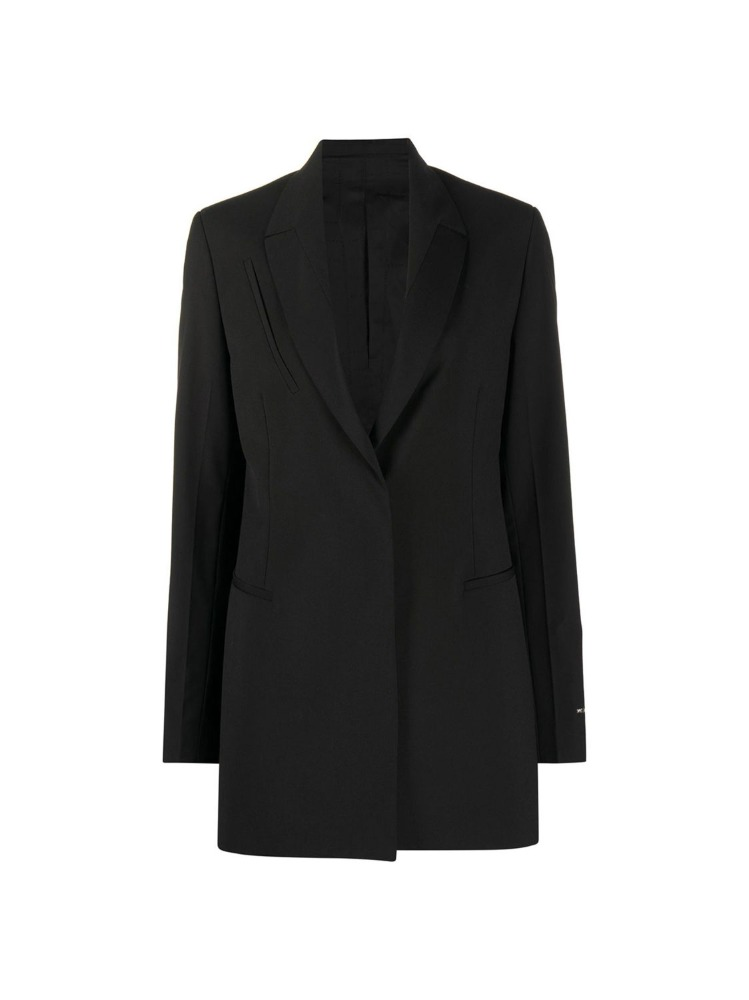 SLIT POCKET LONG-SLEEVED BLAZER - 아데쿠베