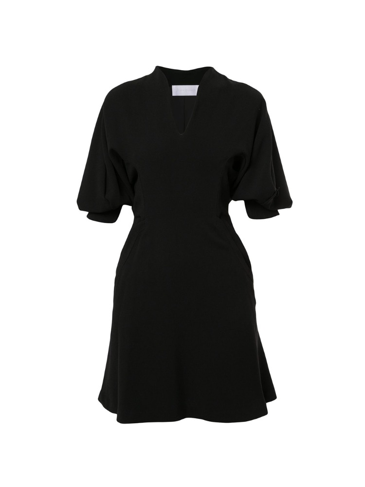 VOLUME SLEEVE DRESS - 아데쿠베