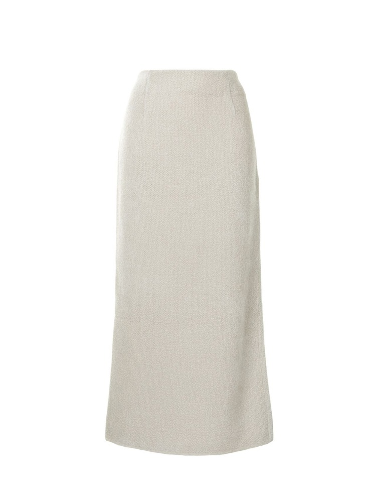 SOFT TOUCH KNIT SKIRT - 아데쿠베