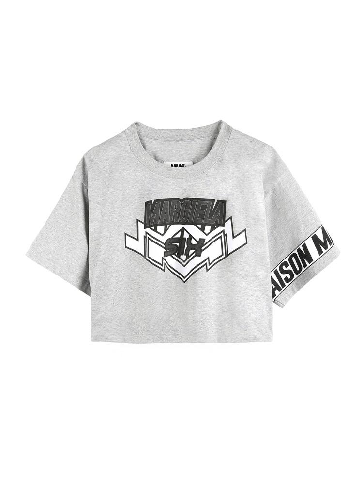 MOTOCROSS LOGO CROPPED T-SHIRT - 아데쿠베