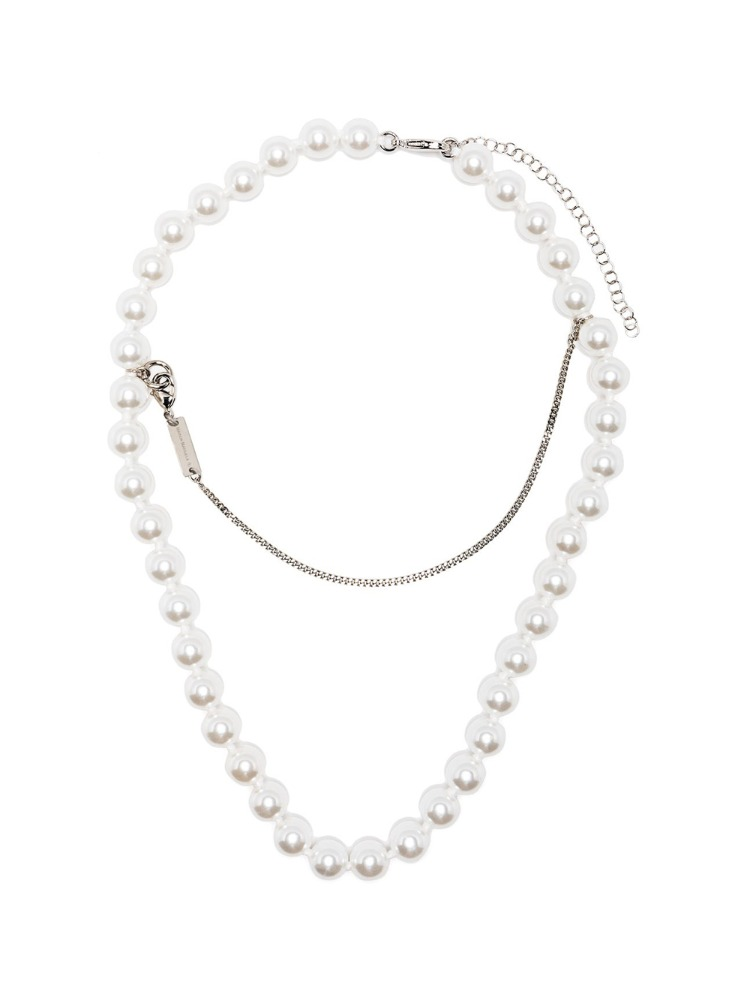 SUSPENDED PEARLS NECKLACE - 아데쿠베