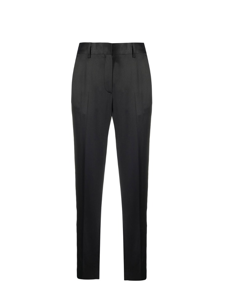 SATIN TAILORED TROUSERS - 아데쿠베