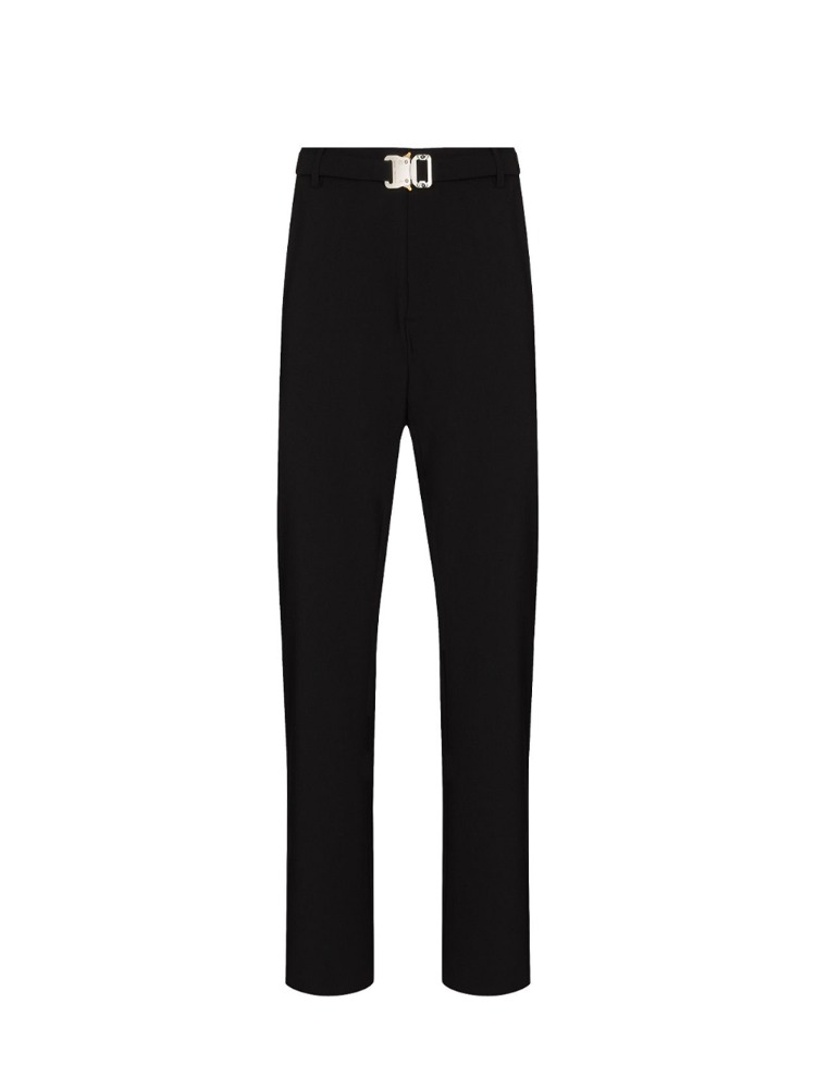 METAL BUCKLE SUIT PANT - 아데쿠베