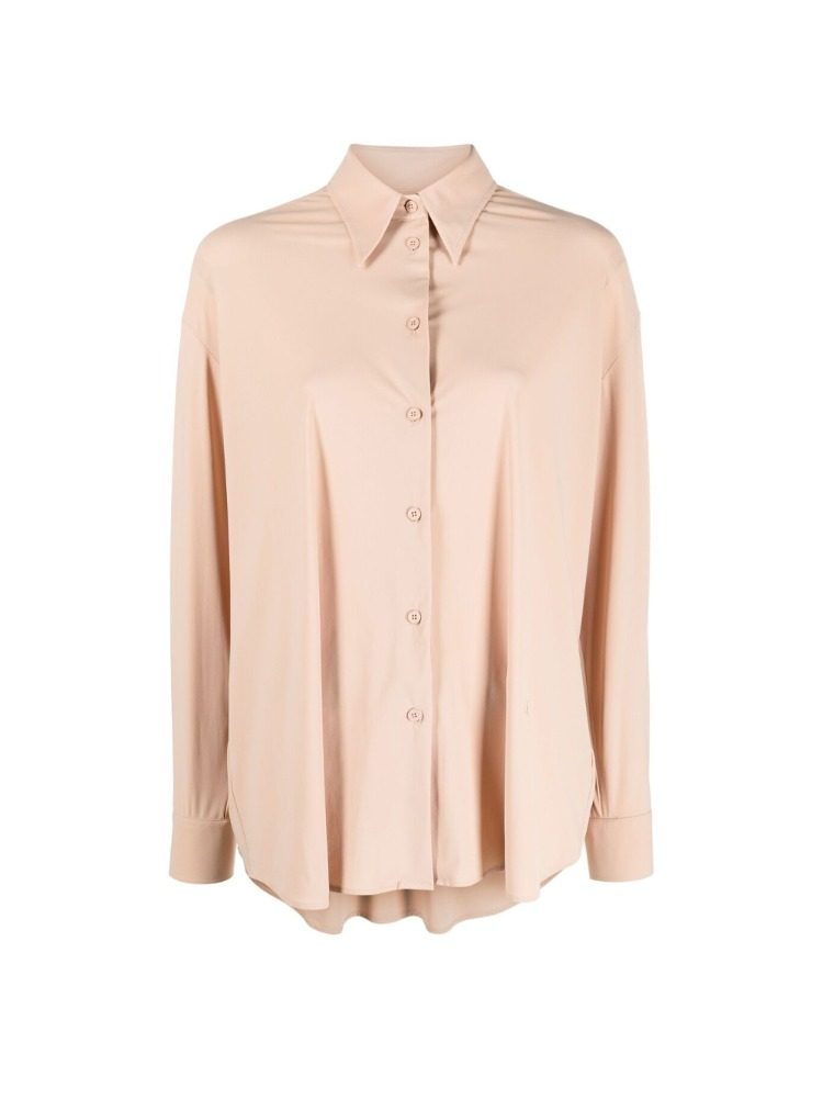 FLUID NUDE COLOR SHIRT - 아데쿠베