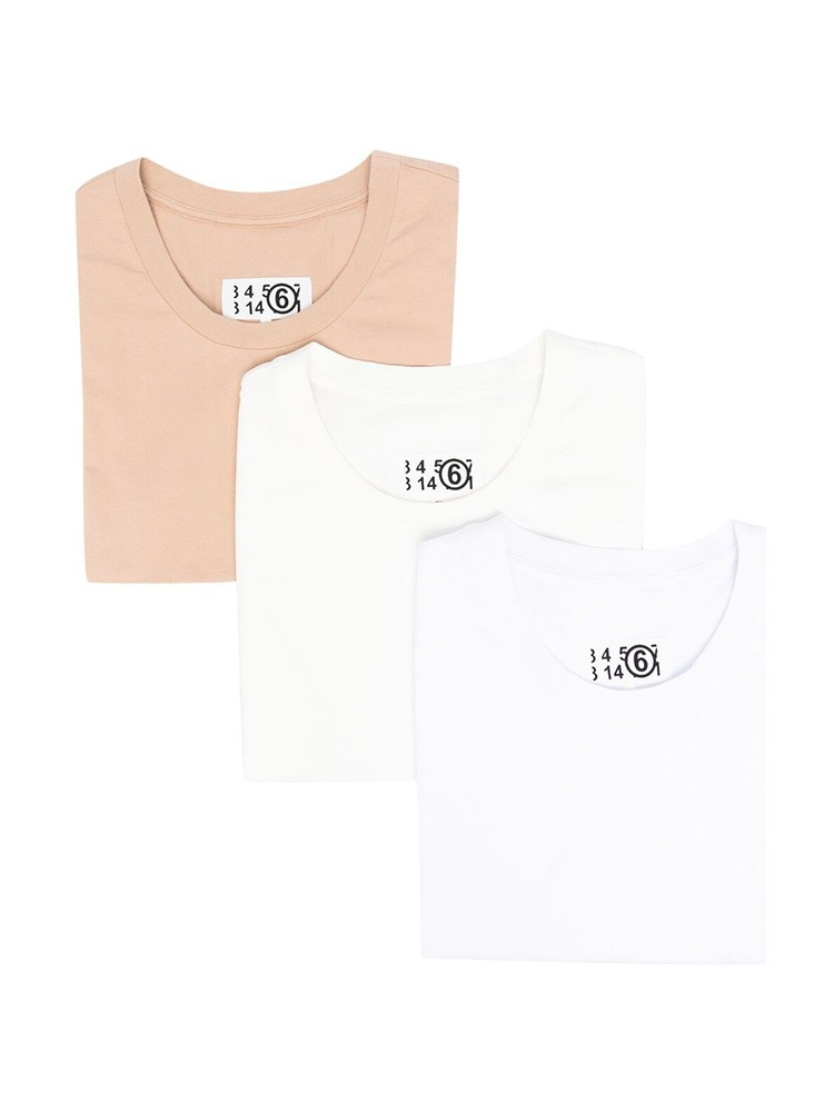 3 PACK T-SHIRT - 아데쿠베